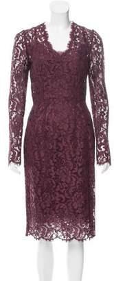 Dolce & Gabbana Guipure Lace Sheath Dress w/ Tags