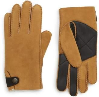 UGG Slim Genuine Shearling Gloves