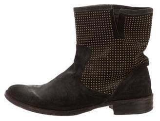 Fiorentini+Baker Burnished Suede Ankle Boots black Burnished Suede Ankle Boots
