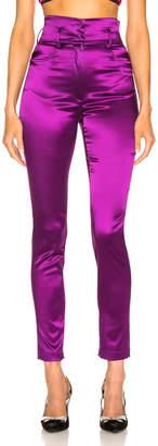 Dolce & Gabbana High Waisted Satin Pants