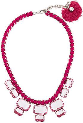Rada' Radà chunky rhinestone necklace