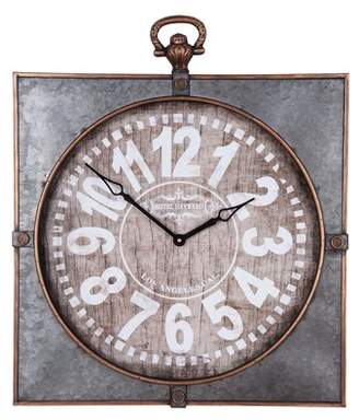 LIBRARY Foreside Home & Garden Oversized Analog Wall Clock
