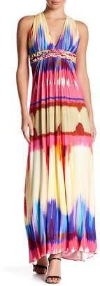 Sky Lyrica Printed Maxi Dress