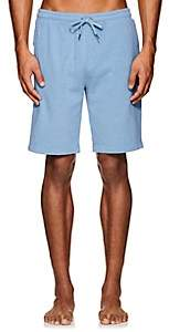 Derek Rose Men's Devon Cotton Terry Shorts - Blue