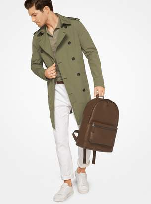 Michael Kors Cotton-Blend Trench Coat