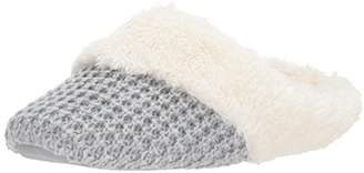 Dearfoams Women's Sweater Knit Closed Toe Scuff