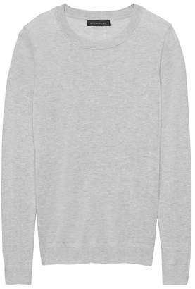 Banana Republic Silk Cashmere Crew-Neck Sweater