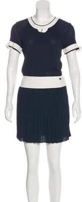 Chanel Rib Knit Dress