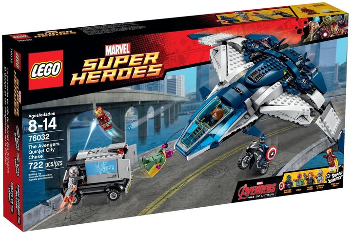LEGO Super Heroes The Avengers Quinjet City Chase - 76032