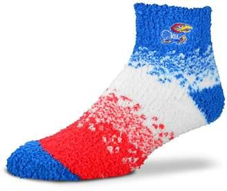 For Bare Feet Women's Kansas Jayhawks Marquee Sleep Socks