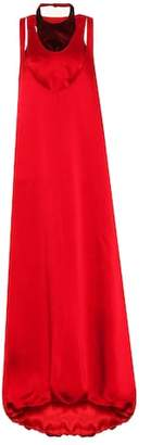 Valentino Sleeveless satin gown