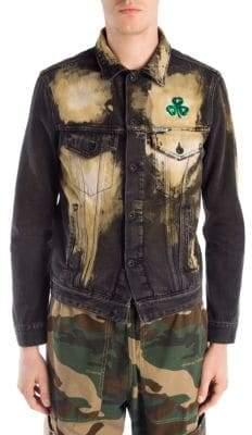 Off-White Denim Spots Washed Jacket