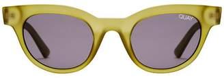 Quay X Kylie Star Struck Sunglasses - Olive & Smoke