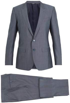 Dolce & Gabbana Martini silk and wool-blend suit