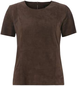 ELLESD - Chocolate Suede T-Shirt