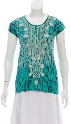 Calypso Tie-Dye Linen T-Shirt