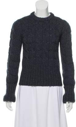 Michael Kors Cable Knit Crew Neck Sweater