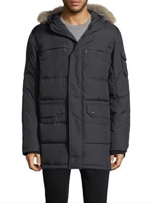 Pajar Men's Quilted Fur Hood Parka