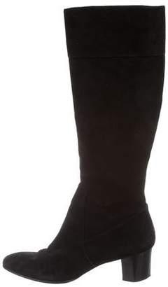 Diane von Furstenberg Square-Toe Knee-High Boots