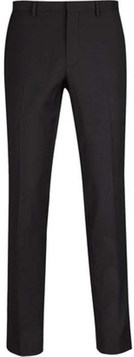 Womens **Burton Black Stretch Skinny Fit Tuxedo Trousers