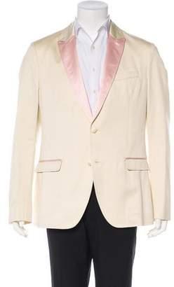 Dolce & Gabbana Deconstructed Satin-Lapel Tuxedo Jacket