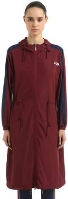 Fila Urban Ellie Lightweight Nylon Long Jacket