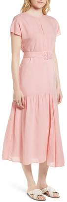 Nordstrom Signature Stripe Belted Dress