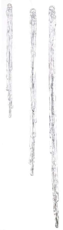 Icicle - Hängetopf - silberfarben