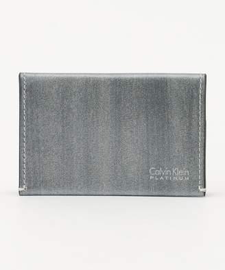 Calvin Klein (カルバン クライン) - Calvin Klein men 【新作入荷】ボールドIIカードサイズ小銭入れ コインケース(C)FDB