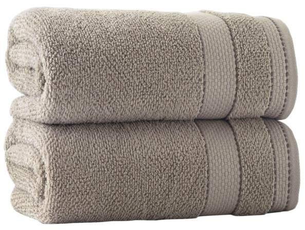 Turko Textile LLC Enchante Home Monroe Set of 2 Turkish Cotton Bath Towels