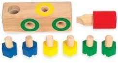 Guidecraft Screw Block Toy