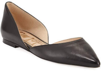 1909ddd77 Sam Edelman Rodney Pointed-Toe Leather Flat