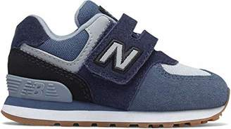 New Balance Boys' Iconic 574 Hook and Loop Sneaker