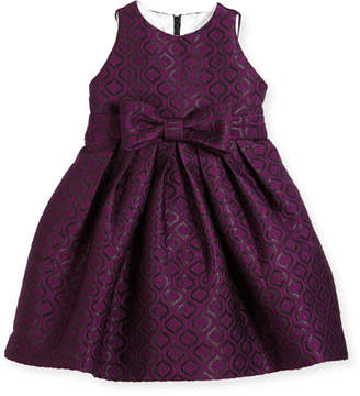 Helena Geo Jacquard Dress, Size 2-6
