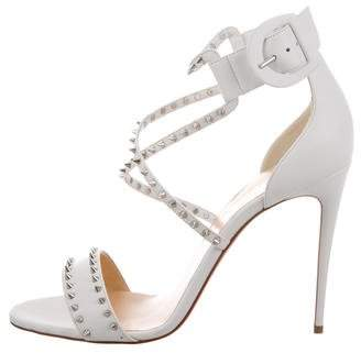 Christian Louboutin Studded Leather Sandals