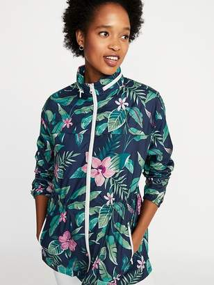Old Navy Water-Resistant Hooded Jacket for Women