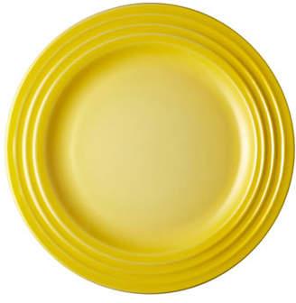 Le Creuset Four-Piece Round Appetizer Plate Set