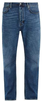 Acne Studios BlA Konst Land Straight Leg Jeans - Mens - Blue