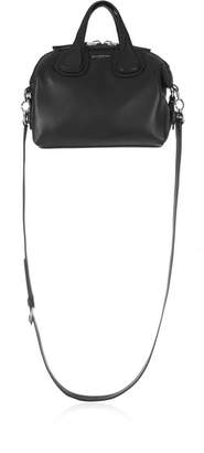 Givenchy - Micro Nightingale Shoulder Bag In Black Textured-leather - one size $1,790 thestylecure.com