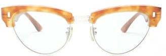 Celine Cat Eye Tortoiseshell Acetate Sunglasses - Womens - Tortoiseshell