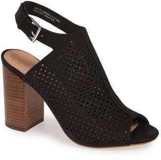 Halogen Perforated Shield Sandal