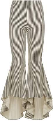 Alice + Olivia Jinny Flared StripeTrousers