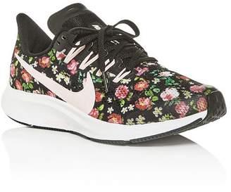 Nike Girls' Air Zoom Pegasus Floral Low-Top Sneakers - Big Kid
