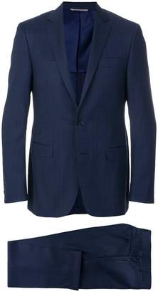Canali checked two piece suit