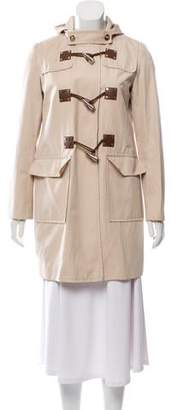MICHAEL Michael Kors Knee-Length Hooded Coat