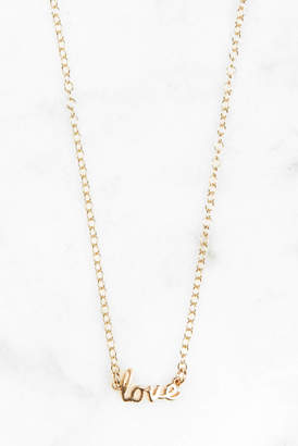 Kris Nations Love necklace In A Bottle
