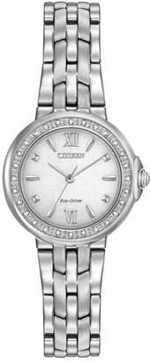 Citizen Women's Eco-Drive Gold-Tone Stainless Steel Bracelet Watch, 29mm