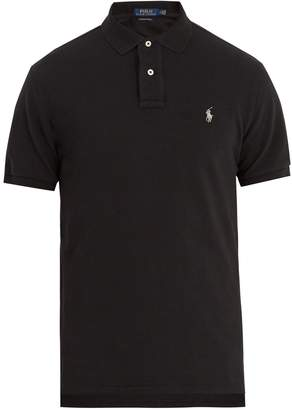Polo Ralph Lauren Custom-slim fit cotton-piqué polo shirt