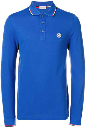 Moncler longsleeved polo shirt