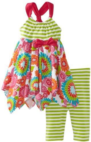 Bonnie Baby Girls Infant Legging Set